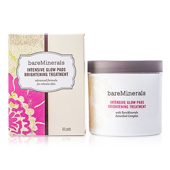 Bare Escentuals BareMinerals Intensive Glow Pads Brightening Treatment  60pads