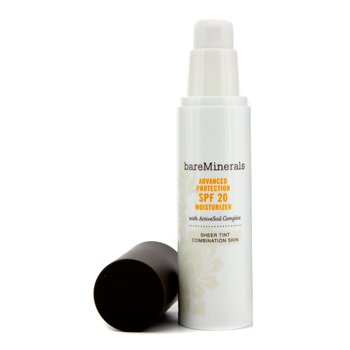 Bare EscentualsBareMinerals Advanced Protection SPF 20 Moisturizer Sheer Tint (Combination Skin) 50ml/1.7oz