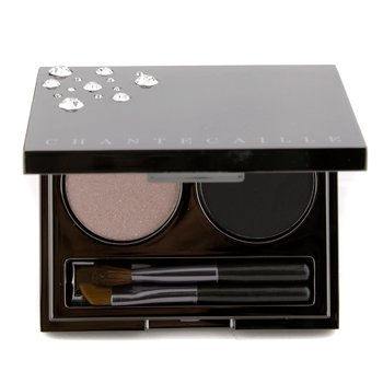 Chantecaille Evening Duo: 1x Eye Lid Shade Eyeshadow  1x Eye Liner Shade Eyeshadow  2x Applicator 3.5g/0.122oz