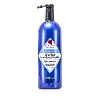 Turbo Wash Energizing Cleanser For Hair & Body Jack Black Turbo Wash Energizing Cleanser For Hair & Body 975ml/33oz 14170599921