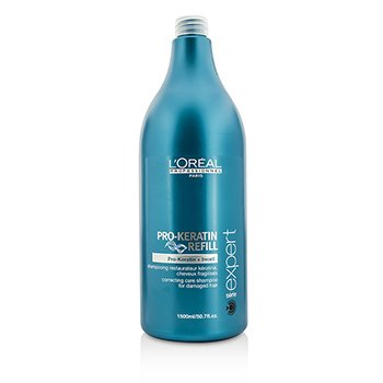 L'OrealProfessionnel Expert Serie - Pro-Keratin Refill Correcting Care Shampoo (For Damaged Hair) 1500ml/50.7oz