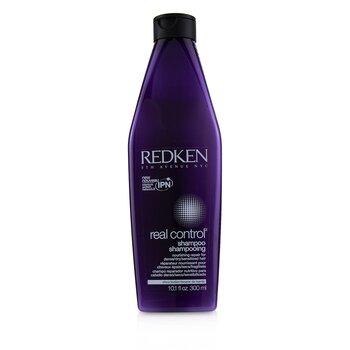 Redken Real Control Nourishing Repair Shampoo - For Dense/ Dry/ Sensitized Hair (Interlock Protein N