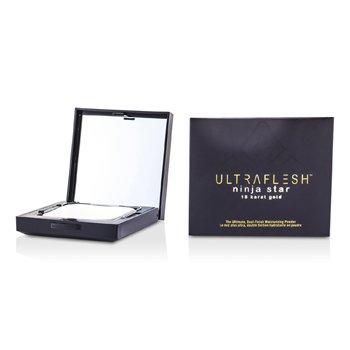Fusion Beauty Ultraflesh Ninja Star 18 Karat Gold Dual Finish Moisturizing Powder - # Diaphanous 7.7g/0.27oz