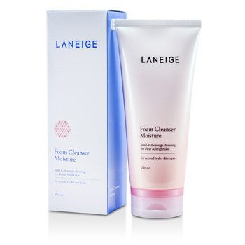 LaneigeFoam Cleanser Moisture (For Normal to Dry Skin) 180ml/6.1oz