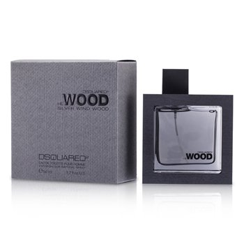 Dsquared2 He Wood Silver Wind Wood Eau De Toilette Spray 50ml/1.7oz