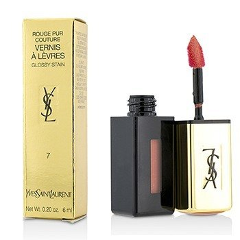Купить Rouge Pur Couture Vernis a Levres Блеск для Губ - # 7 Corail Aquatique 6ml/0.2oz, Yves Saint Laurent