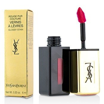 Купить Rouge Pur Couture Vernis a Levres Блеск для Губ - # 11 Rouge Gouache 6ml/0.2oz, Yves Saint Laurent
