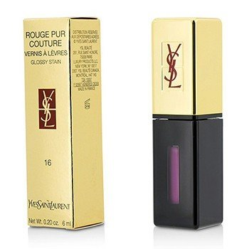 Yves Saint Laurent Rouge Pur Couture Vernis a Levres Glossy Stain - # 16 Pourpre Preview  6ml/0.2oz