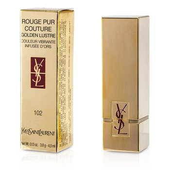 Yves Saint Laurent Rouge Pur Couture Golden Lustre - # 102 L'Or Pur  3.8g/0.13oz