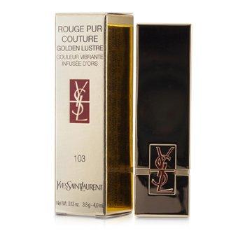 Yves Saint Laurent Rouge Pur Couture Golden Lustre - # 103 Bronze Persepolis  3.8g/0.13oz