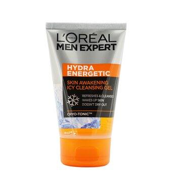 Men Expert Hydra Energetic Skin Awakening Icy Cleansing Gel