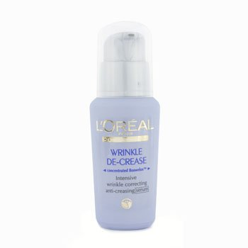L'Oreal Dermo-Expertise Wrinkle De-Crease Anti-Creasing Serum  30ml/1oz