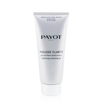 PayotGel de limpeza Absolute Pure White Mousse Clarte Lightening Cleansing Gel 200ml/6.7oz