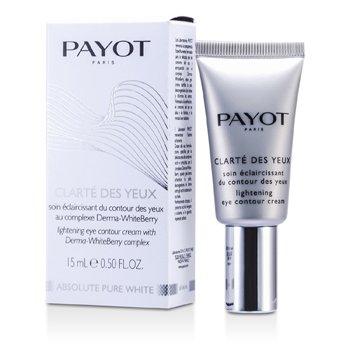 PayotCreme p/ contorno dos olhos Absolute Pure White Clarte Des Yeux Lightening Eye Contour Cream 15ml/0.5oz