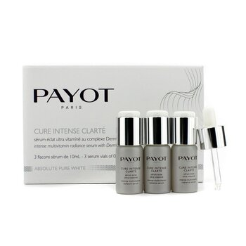 Payot Absolute Pure White Intense Suero Resplandor Multivitamina  3x10ml/0.34oz