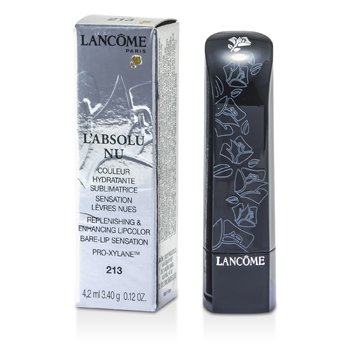 LancomeL'Absolu Nu Replenishing & Enhancing Lipcolor - # 213 Cafe Cashmere 4.2ml/0.12oz