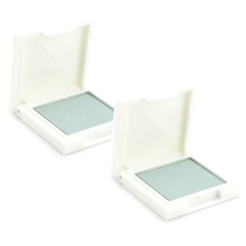 Eye Shadow Duo Pack - # 42S Green White (Shimmering)
