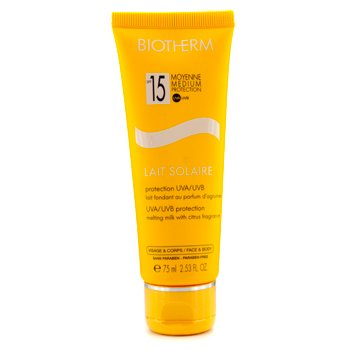 Biotherm Lait Solaire SPF 15 UVA/UVB Protection Melting Milk  75ml/2.53oz