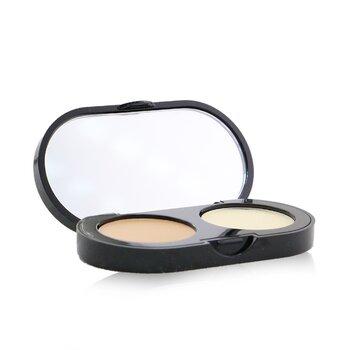 Bobbi Brown New Creamy Concealer Kit – Warm Beige Creamy Concealer + Pale Yellow Sheer Finish Pressed Powder 3.1g/0.11oz