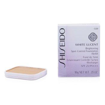 Shiseido White Lucent Brightening Spot Control Foundation SPF25 Refill - # O20 (Ochre 10)  10g/0.35oz