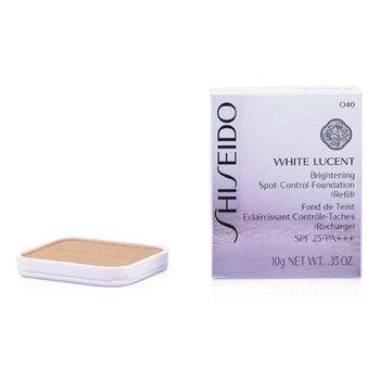 Shiseido White Lucent Brightening Spot Control Foundation SPF25 Refill - # O40 (Ochre 20