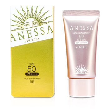 Shiseido Anessa Pantalla Solar Rostro BB Natural SPF 50+ PA+++  30g/1oz