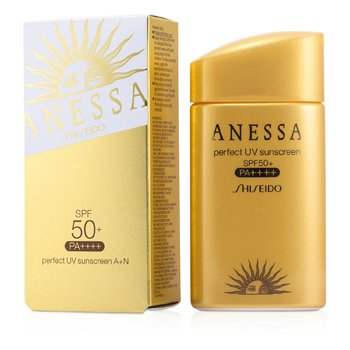 Shiseido Anessa Perfect UV Pantalla Solar AA SPF 50+ PA+++  60ml/2oz
