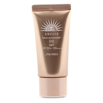 ShiseidoAnessa Face Sunscreen BB  Light SPF 50+ PA+++ 30g/1oz
