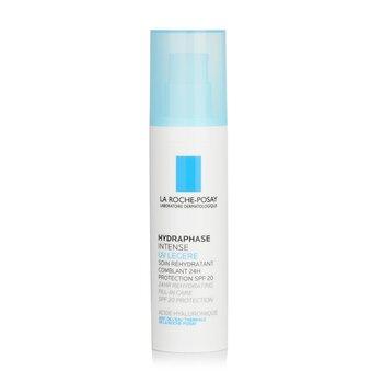 La Roche PosayHydraphase 24-Hour Intense Daily Rehydration SPF20 (For Sensitive Skin) 50ml/1.69oz