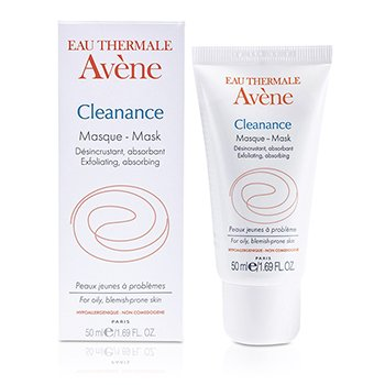 Avene Cleanance Exfoliating & Absorbing Mask (For Oily & Blemish-Prone Skin) 50ml/1.69oz