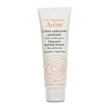Avene Deep Pore Foaming Cleanser (For Oily Sensitive Skin)  125ml/4.2oz