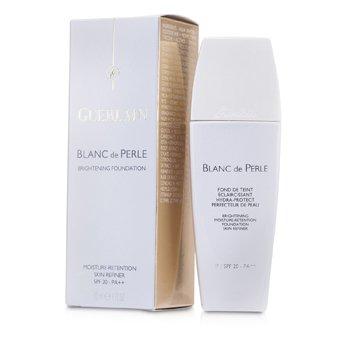 GuerlainRozja�niaj�cy podk�ad w p�ynie Blanc De Perle Fluid Brightening Foundation SPF 20 - #02 Beige Clair 30ml/1oz