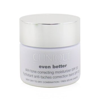 CliniqueEven Better Skin Tone Correcting Moisturizer SPF 20 (Very Dry to Dry Combination) 50ml/1.7oz