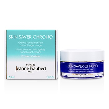 Methode Jeanne Piaubert Skin Saver Chrono Crema Antienvejecimiento Fundamental Noche  50ml/1.66oz