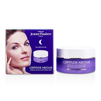 Methode Jeanne PiaubertCertitude Absolue Ultra Anti-Wrinkle Night Cream 50ml/1.66oz
