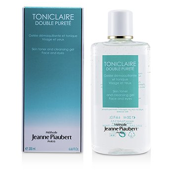 Methode Jeanne PiaubertToniclaire Skin Toner & Cleansing Gel (For Face & Eyes) 200ml/6.66oz