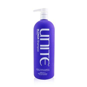 Купить BLONDA Toning Shampoo (Violet Toning Shampoo) 1000ml/33.8oz, Unite