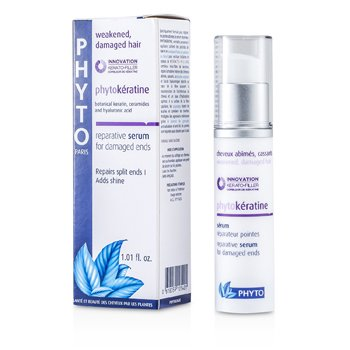 Phyto Phytokeratine Reparative Serum (For Weakened, Damaged Hair and Damaged Ends)  30ml/1.01oz