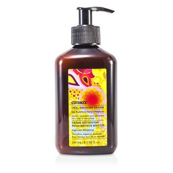 Amika Curl Defining Cream (For Curly Or Wavy Hair)  250ml/8.5oz