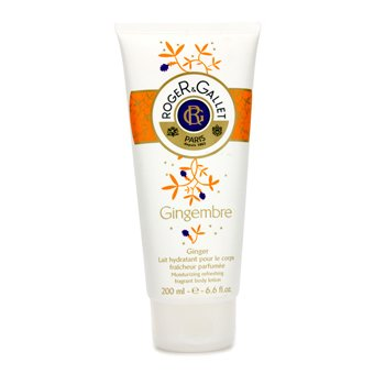 Roger & Gallet Gingembre (Ginger) Moisturizing Refreshing Fragrant Body Lotion  200ml/6.6oz