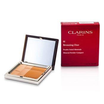 Clarins Br�zuj�cy puder prasowany Bronzing Duo Mineral Powder Compact SPF 15 - 02 Medium  10g/0.35oz