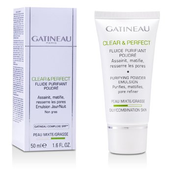 Gatineau Clear & Perfect Purifying Powder Emulsion (For Oily/Combination Skin)  50ml/1.6oz