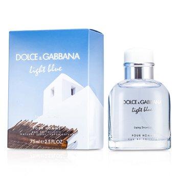 Dolce & GabbanaLight Blue Living In Stromboli Eau De Toilette Spray 75ml/2.5oz