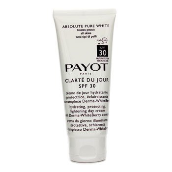 PayotAbsolute Pure White Clarte Du Jour SPF 30 Hydrating Protecting Lightening Day Cream (Salon Size) 100ml/3.3oz