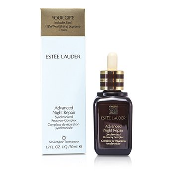 Estee LauderAdvanced Night Repair Synchronized Recovery Complex (Free Gift: New Revitalizing Supreme Creme 5ml)  50ml/1.7oz