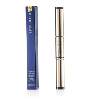 Estee LauderSumptuous Two Tone Eye Opening Mascara - # 01 Bold Black/Rich Brown 2x3ml/0.09oz