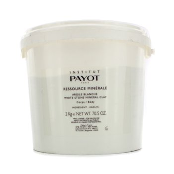 Payot Ressource Minerale Argile Verte White Stone Mineral Clay (Packaging Slightly Damaged)  2kg/70.5oz