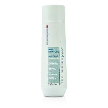 Goldwell Dual Senses Green Real Moisture Shampoo (For Normal To Dry Hair)  250ml/8.4oz