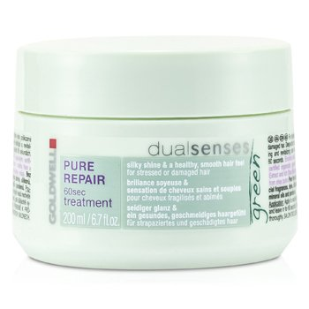 Goldwell Dual Senses Green Pure Repair 60 Sec Treatment (For Stressed Or Damaged Hair) 200ml/6.7oz
