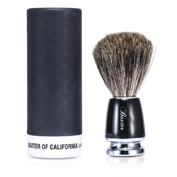 Baxter Of CaliforniaBest-Badger Cepillo para afeitarse (Negro) 1pc